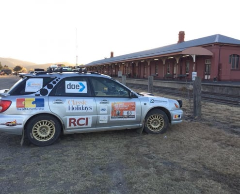 Team Classic at the Great Endeavour Rally 2018